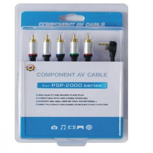 Cables Video-AV para PSP (por componentes)