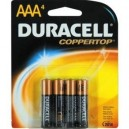 Blister 4 pilas AAA Duracell Simply