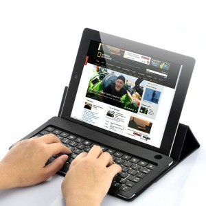 "Funda Tablet 6""-7"" con Teclado por Bluetooth"