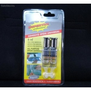 Pegamento Supertite epoxi (doble componente) 6ml  - n.36