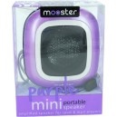 Mini altavoz portatil Mooster amplificado jack 3.5 purple