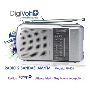 Radio Digivolt Am/Fm RD-808