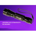 Linterna LED con luz ULTRAVIOLETA (uv)- Sanda SD-0511