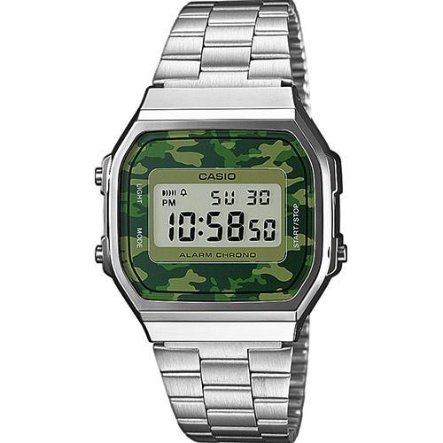 952f34f7794b Reloj Casio metálico plateado A168WEC-3EF - Bazar Canarias Talavera ...
