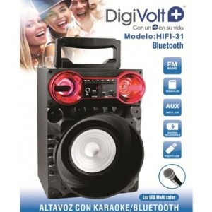 Altavoz portatil con Bluetooth Digivolt HIFI-31