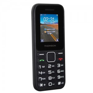 Telefono Movil Thomson T11 libre negro/BLANCO