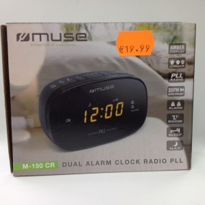 Radio Reloj Despertador Digital MUSE M-150 CR