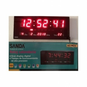 RELOJ DIGITAL DE PARED SANDA SD-0015