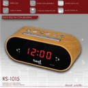 Radio despertador SAMI RS-1015