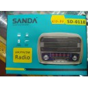 RADIO AM/FM/SW SANDA SD-0118