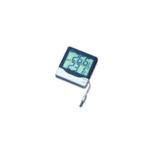 Temperatura termometro int ext lcd max y min - Termometro interior exterior ...
